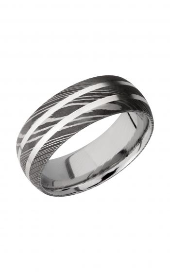 Lashbrook Damascus Steel Wedding band D8D21_SS product image