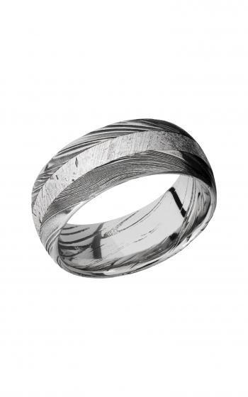 Lashbrook Meteorite Wedding band D9D13WOODGRAIN_METEORITE product image