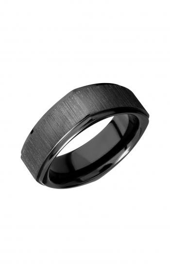Lashbrook Zirconium Wedding band Z8FGESQ_BLACK product image