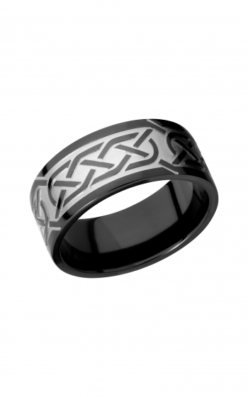 Lashbrook Zirconium Wedding band Z9F_CELTIC5 product image