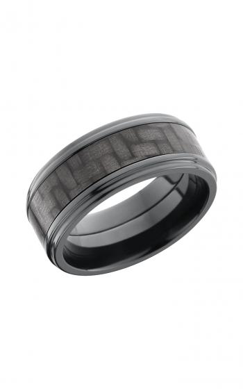 Lashbrook Carbon Fiber Wedding band ZC9FGE15_CF product image