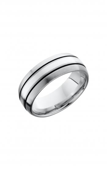 Lashbrook Cobalt Chrome Wedding band CC8D12_SSA product image