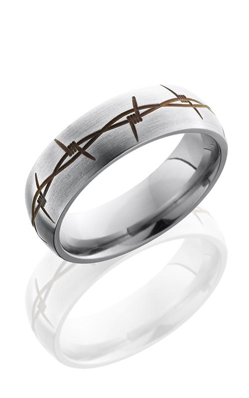 Lashbrook Titanium Wedding band 7DBARBRUST product image