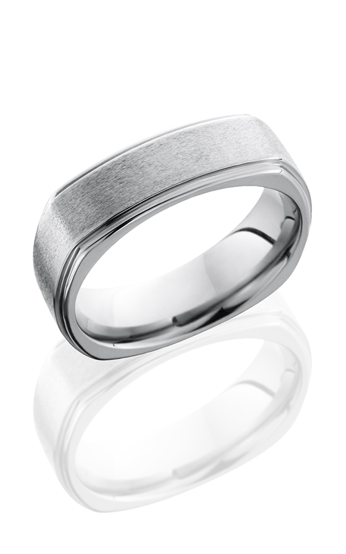 Lashbrook Titanium Wedding band 7FGESQ product image