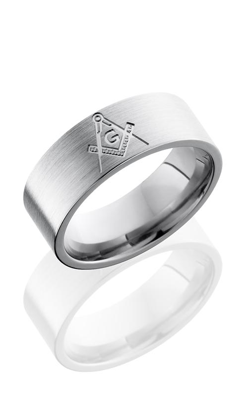 Lashbrook Titanium Wedding band 8FCOMPASS product image