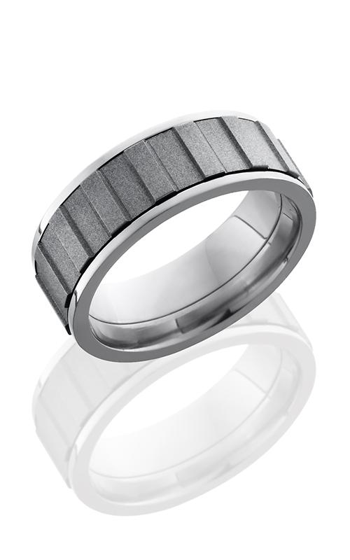Lashbrook Titanium Wedding band 8FGEARSPINNER product image