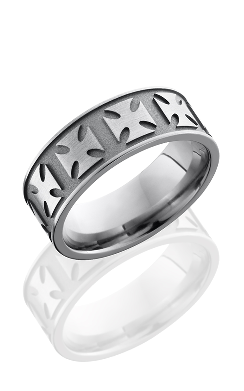 Lashbrook Titanium Wedding band 8FMALTESE product image