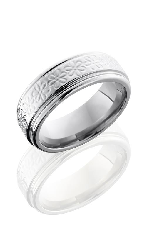 Lashbrook Titanium Wedding band 8REFFLWR product image