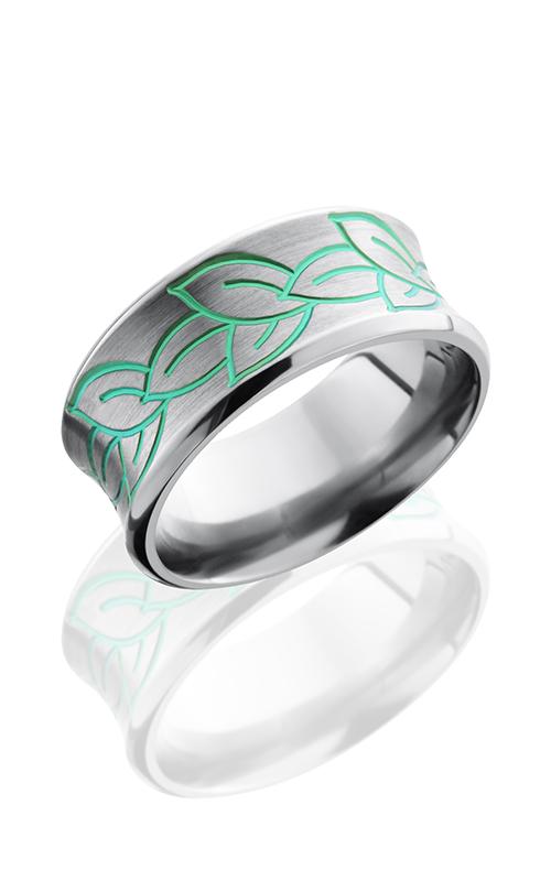 Lashbrook Titanium Wedding band 10CBLEAVES product image