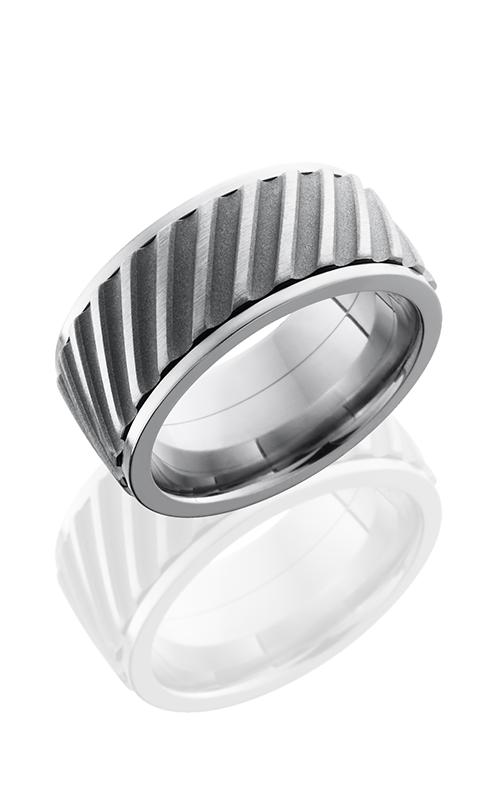 Lashbrook Titanium Wedding band 10FHELICALSPINNER product image