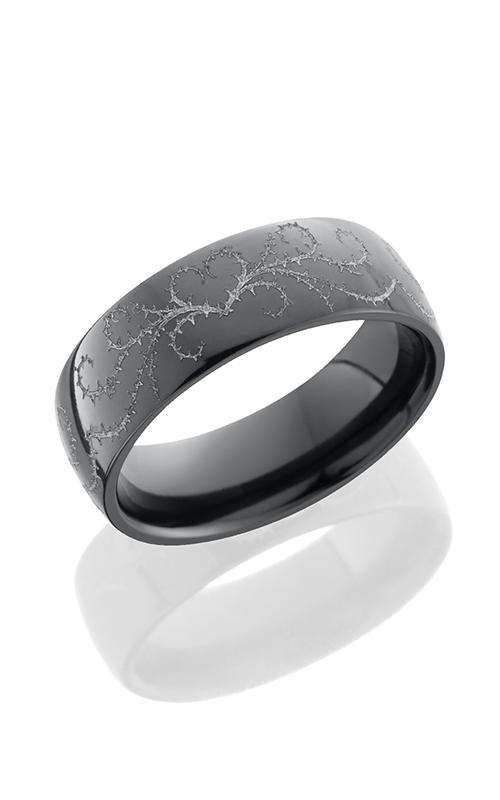 Lashbrook Zirconium Wedding band Z7D WLCVTHORNSHEART product image