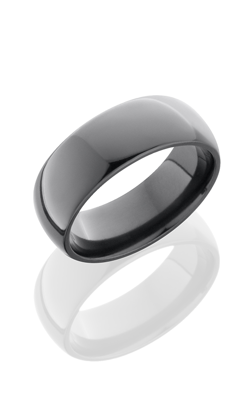 Lashbrook Zirconium Wedding band Z8D POLISH product image