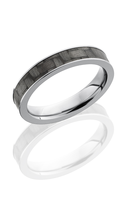 Lashbrook Carbon Fiber Wedding band C4F13 CF POLISH product image
