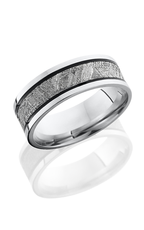 Lashbrook Meteorite Wedding band CC7 5F14 METEORITE MGA POLISH product image