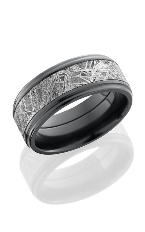 Lashbrook Meteorite Wedding band Z9FGE15 METEORITE POLISH product image