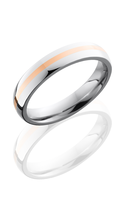 Lashbrook Cobalt Chrome Wedding band CC4D11-14KR POLISH product image