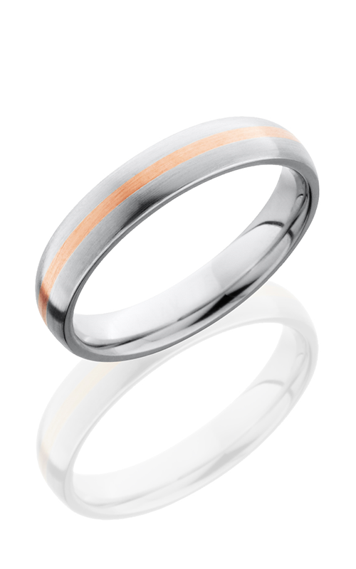 Lashbrook Cobalt Chrome Wedding band CC4D11-14KR SATIN product image