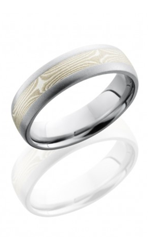 Lashbrook Cobalt Chrome Wedding band CC6D13-MSSPD BEADBLAST product image