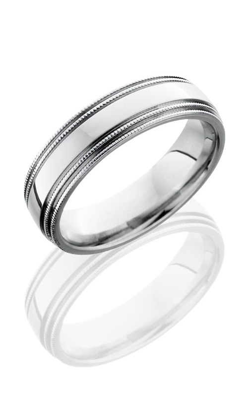 Lashbrook Cobalt Chrome Wedding band CC6D4MIL POLISH product image