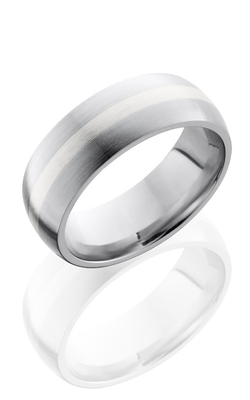 Lashbrook Cobalt Chrome Wedding band CC8D12-SS SATIN product image