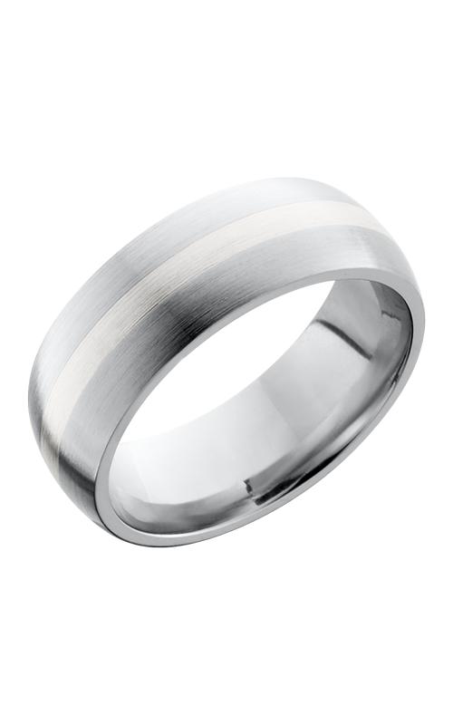 Lashbrook Cobalt Chrome Wedding band CC8D12-SS SATIN product image