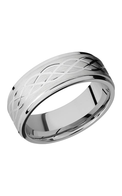 Lashbrook Cobalt Chrome Wedding band CC8FGECELTIC6 SATIN-POLISH product image