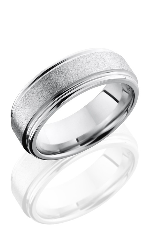 Lashbrook Cobalt Chrome Wedding band CC8REF STONE-POLISH product image
