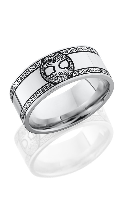 Lashbrook Cobalt Chrome Wedding band CC8F LCVCELTICTREEOFLIFE product image
