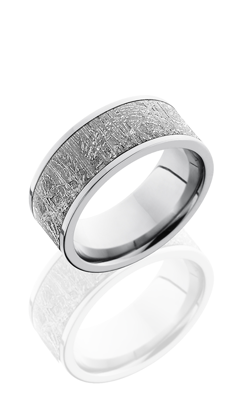Lashbrook Meteorite Wedding band CC9F17 METEORITE product image