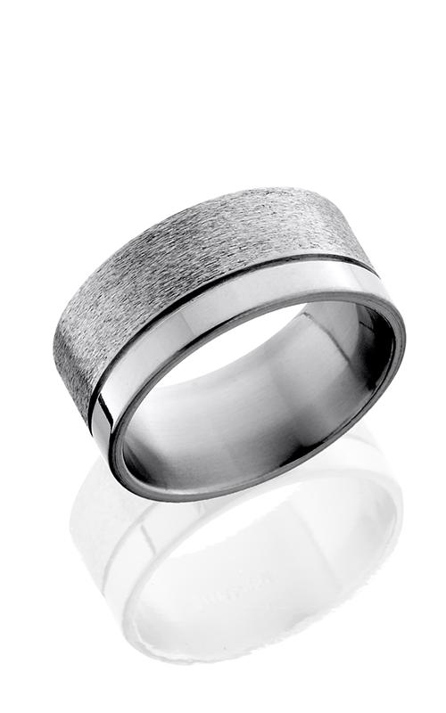 Lashbrook Titanium Wedding band 10F1.5OC Stone Polish product image