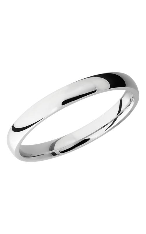 Lashbrook Titanium Wedding band 3D Polish product image