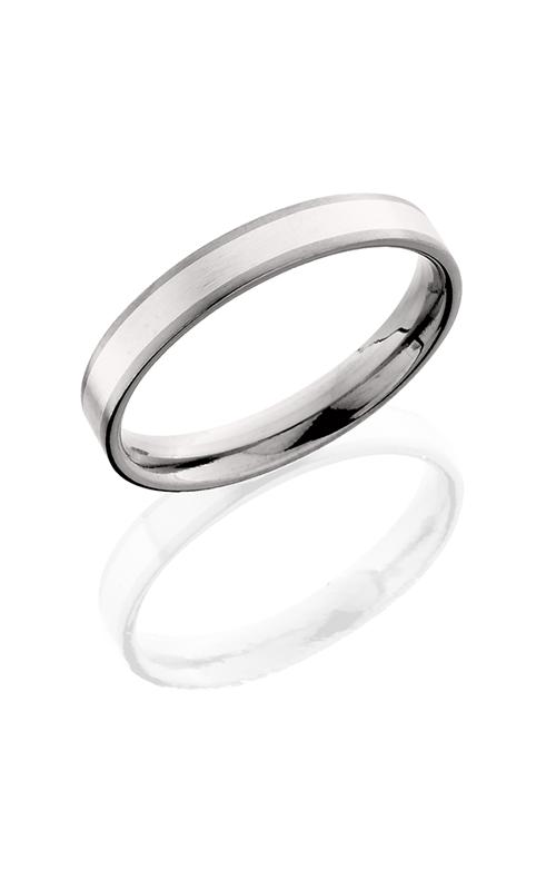 Lashbrook Titanium Wedding band 4F13 SS Satin product image
