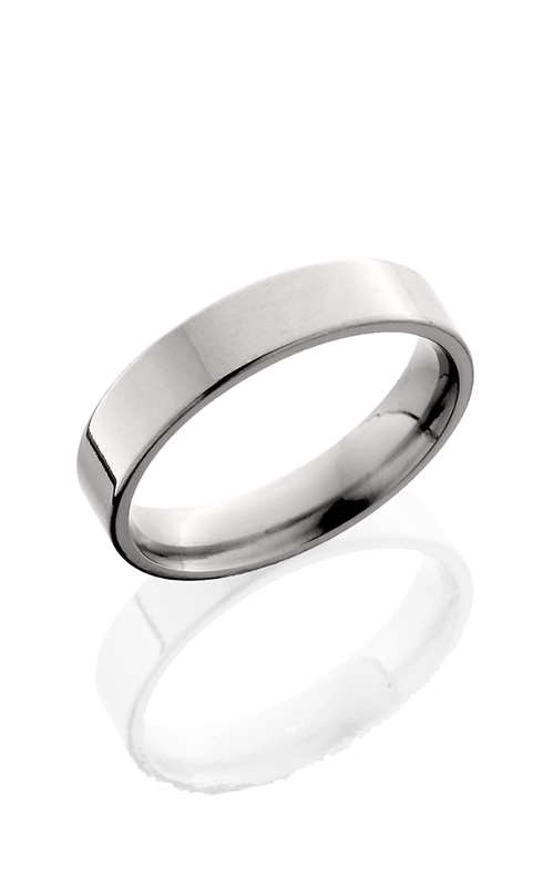 Lashbrook Titanium Wedding band 5F POLISH product image