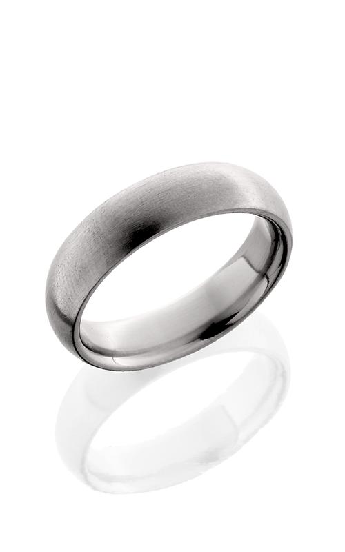 Lashbrook Titanium Wedding band 6D SATIN product image