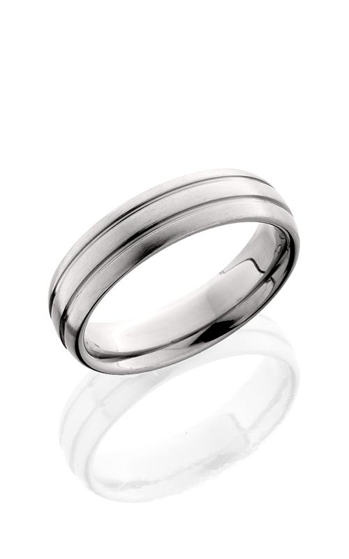 Lashbrook Titanium Wedding band 6D2.5 SATIN product image