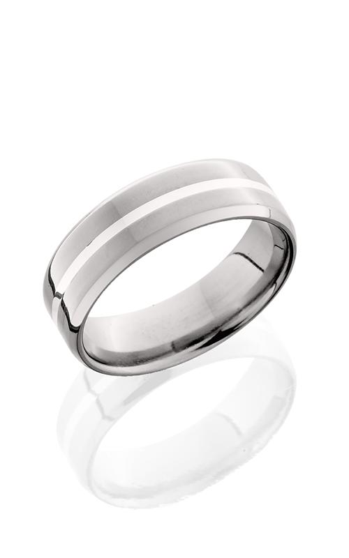 Lashbrook Titanium Wedding band 7B11NS SS POLISH product image