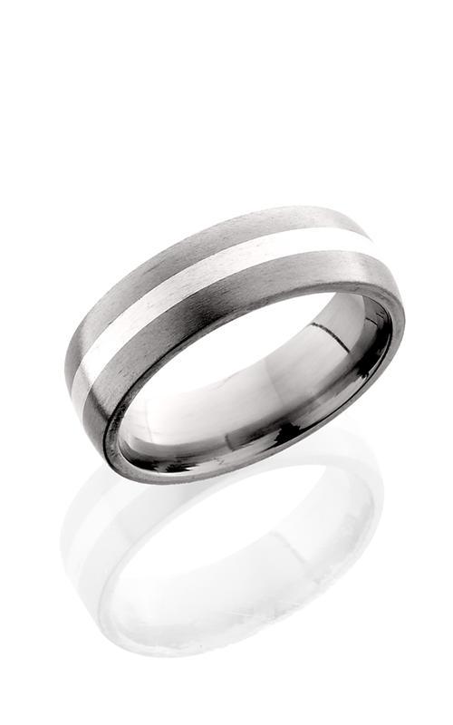 Lashbrook Titanium Wedding band 7D12 SS SATIN product image