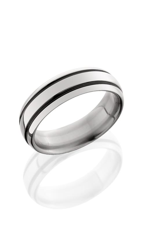 Lashbrook Titanium Wedding band 7D21A POLISH product image