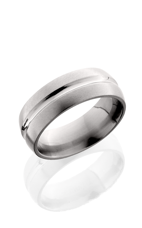 Lashbrook Titanium Wedding band 8DC POLISH SATIN product image