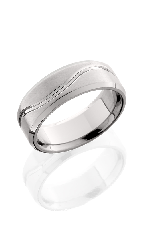 Lashbrook Titanium Wedding band 8FB011 POLISH SATIN product image