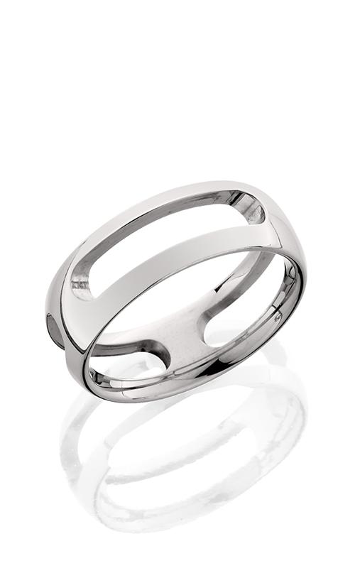 Lashbrook Titanium Wedding band 8HR034 POLISH product image