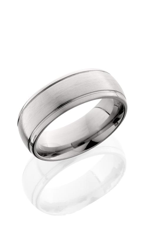 Lashbrook Titanium Wedding band 8HR2SG SATIN product image