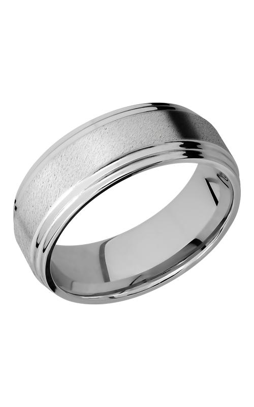 Lashbrook Titanium Wedding band 8F2S STONE POLISH product image