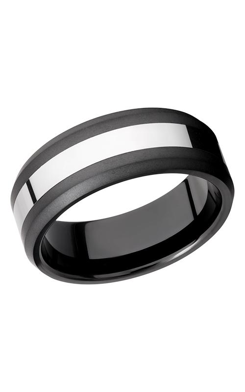 Lashbrook Tungsten Ceramic Wedding band TCR8335-BEAD product image