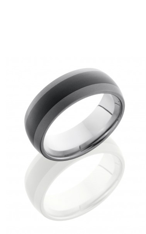 Lashbrook Tungsten Ceramic Wedding band TCR8349-SANDBLAST product image