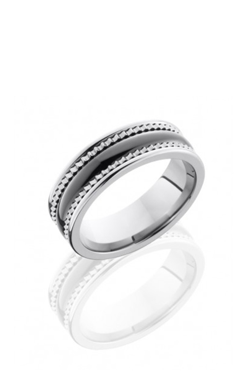 Lashbrook Tungsten Ceramic Wedding band TCR8403-POLISH product image