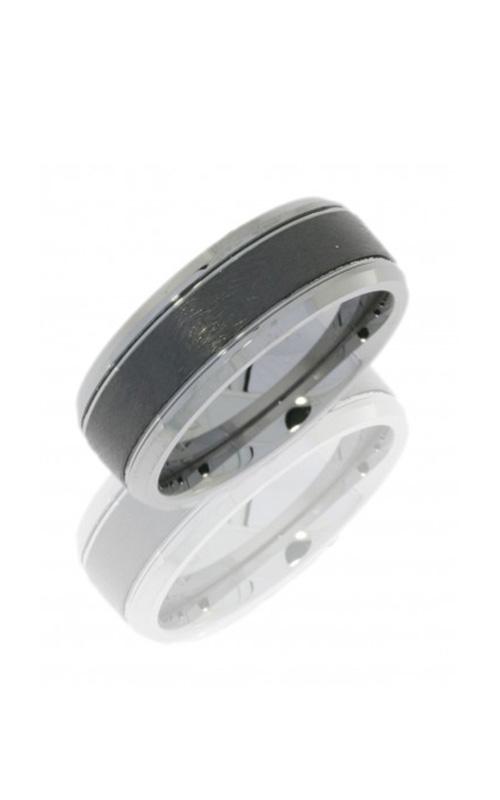 Lashbrook Tungsten Ceramic Wedding band CT08FB9090 product image