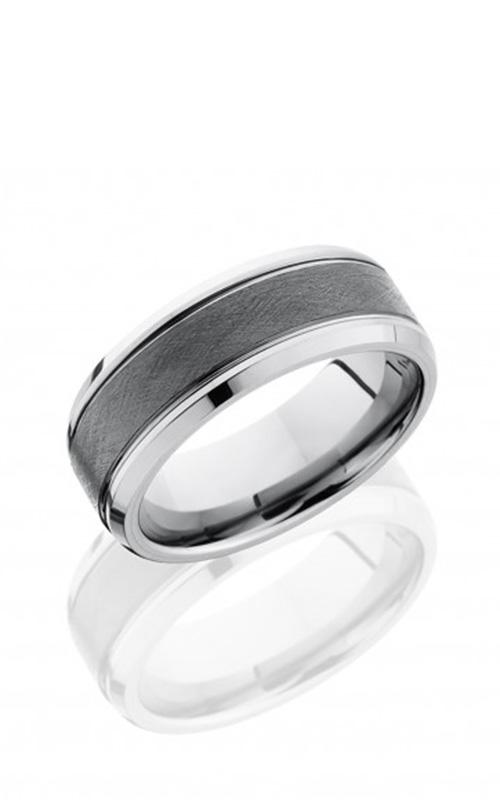 Lashbrook Tungsten Ceramic Wedding band TCR9090 product image