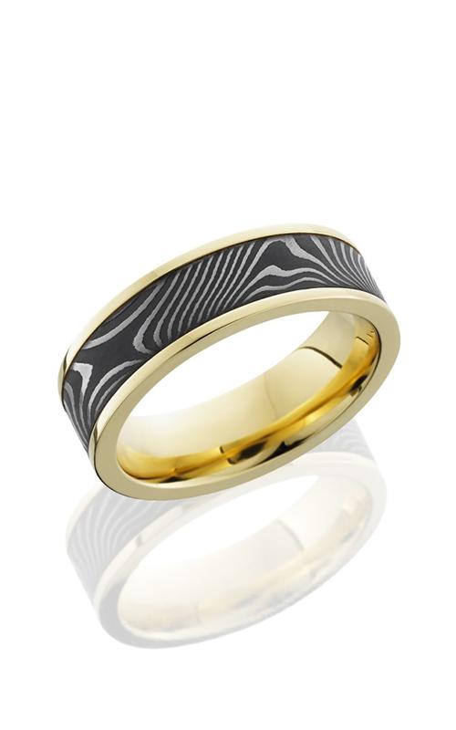 Lashbrook Precious Metals Wedding band 18KYPF7F15 FLATTWIST product image