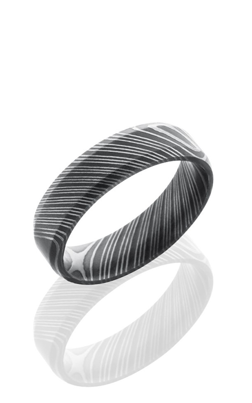 Lashbrook Damascus Steel Wedding band D7B product image
